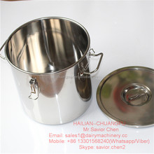 170L Cylindrical Stainless Steel Milk Cans For Sale