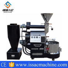 Commercial Gas Electric Heating Coffee Roasting Machine With Stainless Steel Multilayer Roller