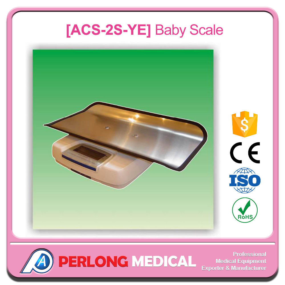 Stainless Steel Tray Electronic Baby Weighing Scales ACS-20S-YE