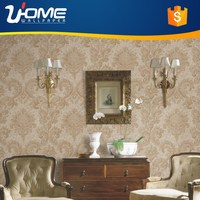 Uhome Waterproof Pure Paper Wallpaper Hot Sale for Modern Home Decor