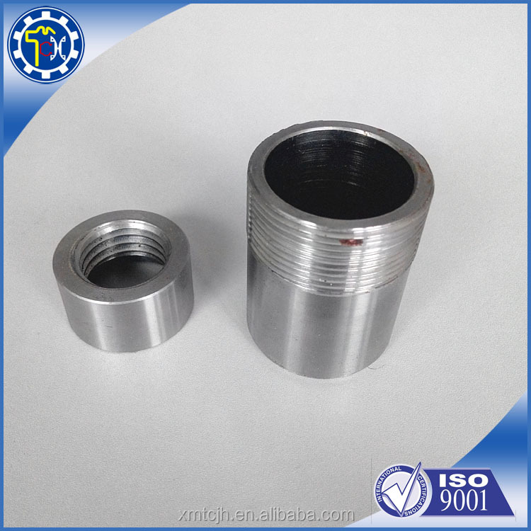 100% factory OEM galvanized carbon steel bushing dowel CNC machined with high anti-rust quality