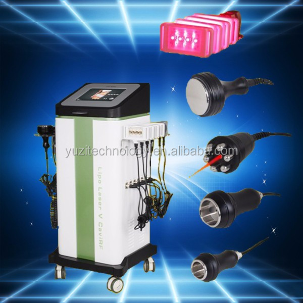Lowest price lipo laser+cavitation+rf+vacuum+rf exilis machine