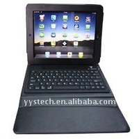 bluetooth mini keyboard for tablet with leather protective case