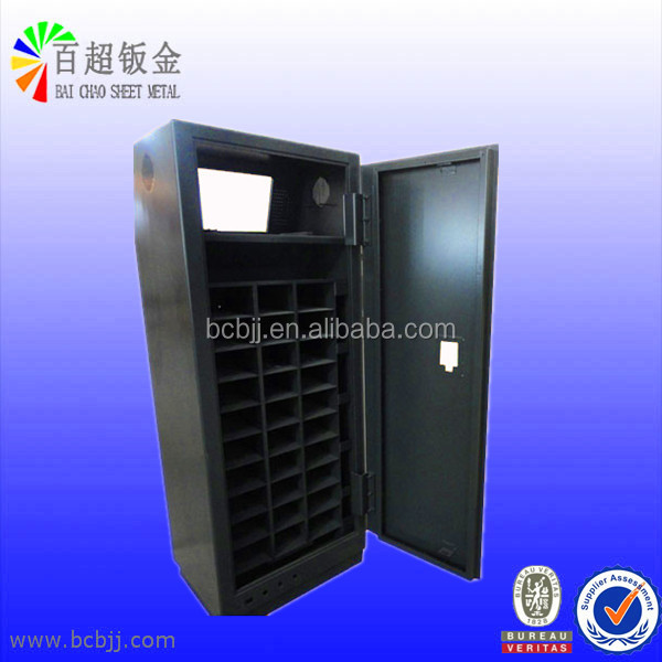 Shoe Cabinet Steel Cabinet Made of Carbon Steel / Stainless Steel / Alumiunum