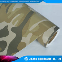 Hot sales digital camo vinyl film/camouflage vinyl wrap