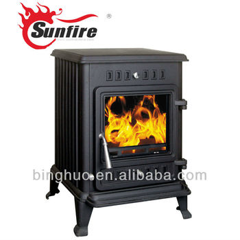 Timberline Style Wood Fireplace Furnace View Metal Wood