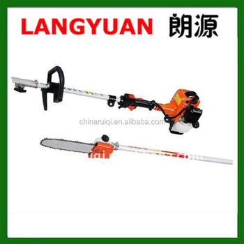 long gasoline tree pruning shear pole saw