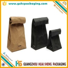 Customized Food Grade Coffe and food take away Kraft paper bag