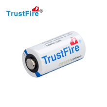 3V non-rechargeable lithium battery 1300mAh 3V TrustFire non-rechargeable Li-ion battery black/white 3.0v lithium battery CR123A