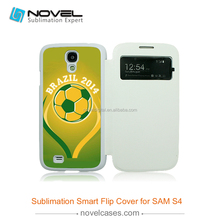 Factory price selling!!! Sublimation Smart Case for Galaxy s4