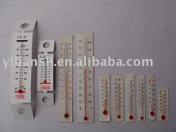 High Quality Paper Thermometer Card