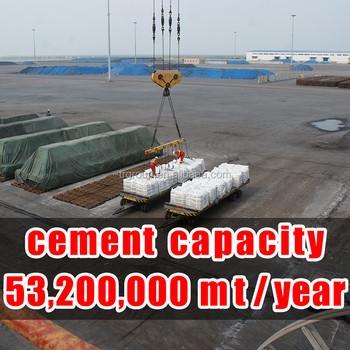 Cement prijs per ton