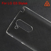 Made in China Plain Plastic phone case for LG G3 Stylus