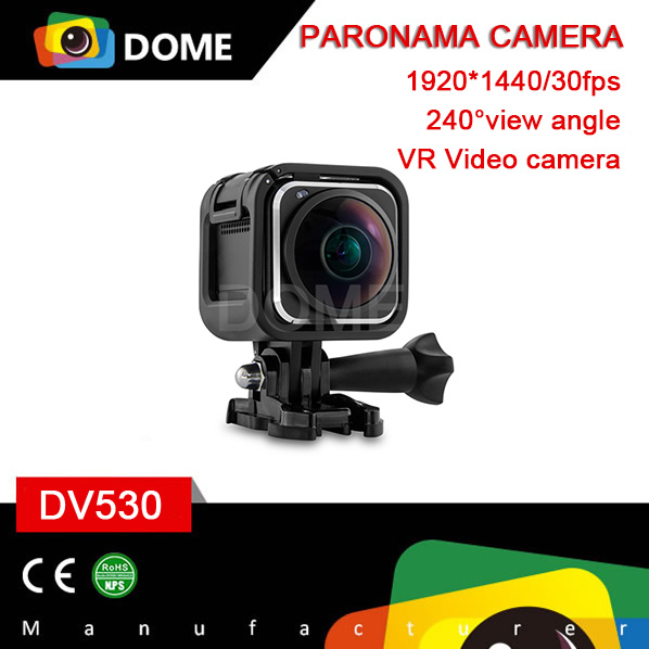 Portable 360 Mini Sports Action Camera 4K 360 Degree Panoramic Camera Recording HD Camcorder With Built-in WiFi