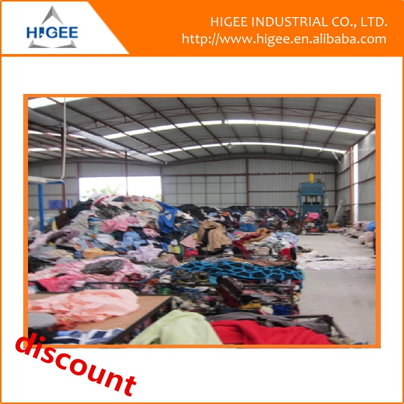 new design warehouse used clothing of China National Standard