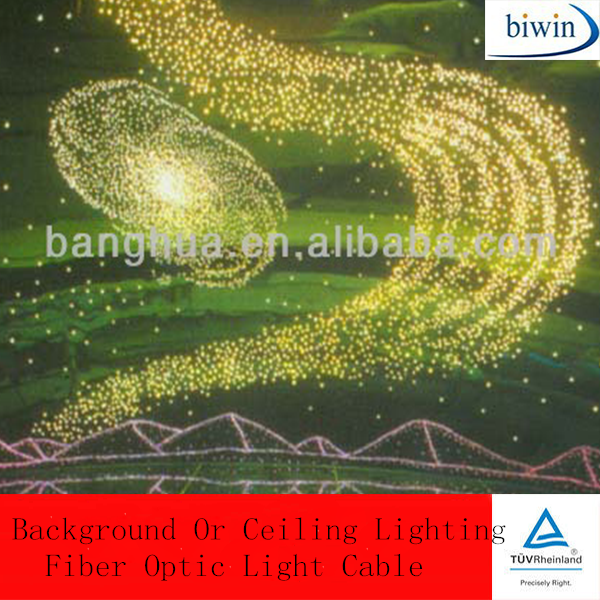 Background Or Ceiling Lighting Fiber Optic Light Cable