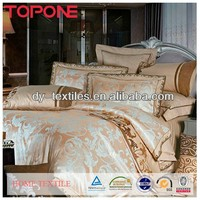 Pretty design european style luxury jacquard bedding comforter sets