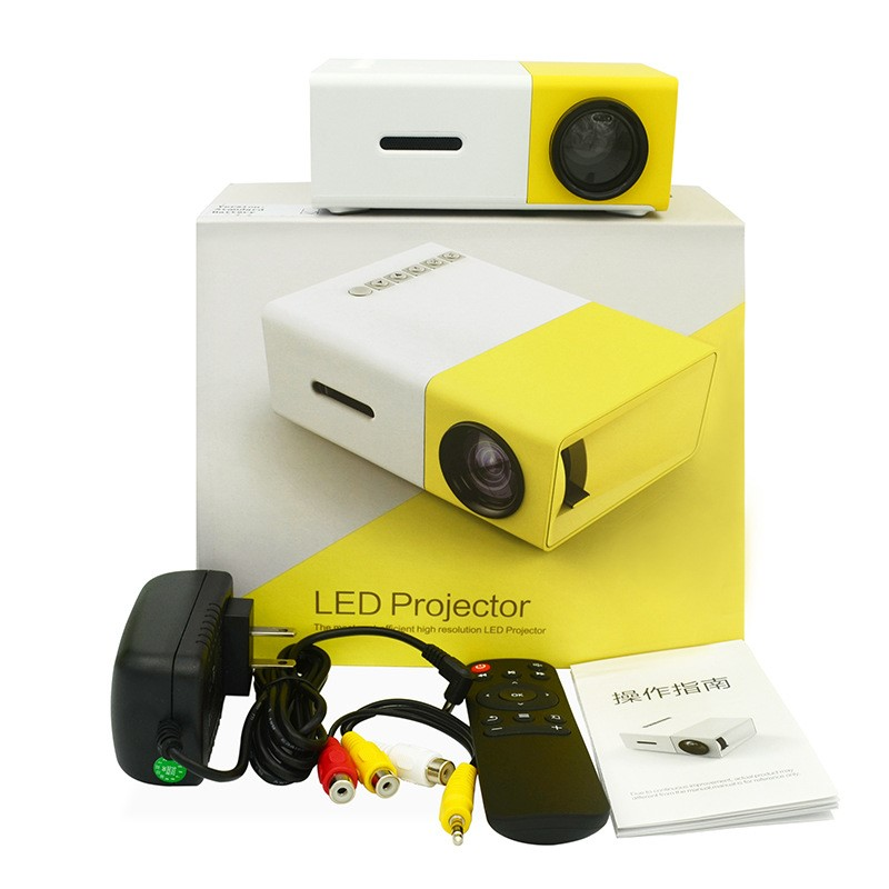 Wholesale 2019 Hot LED Portable home mini theater <strong>Projector</strong> pocket <strong>projector</strong> YG300