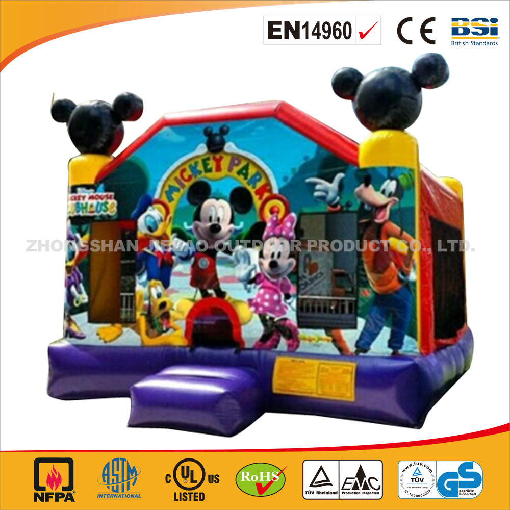 J017-High Quality Funny Mouse Park/Cheap Inflatable Mouse Park Jumping Castle/Commercial Use Bouncer For Hot Sale