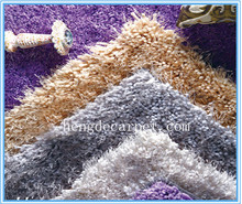 High Low Shaggy Rug for room decoration