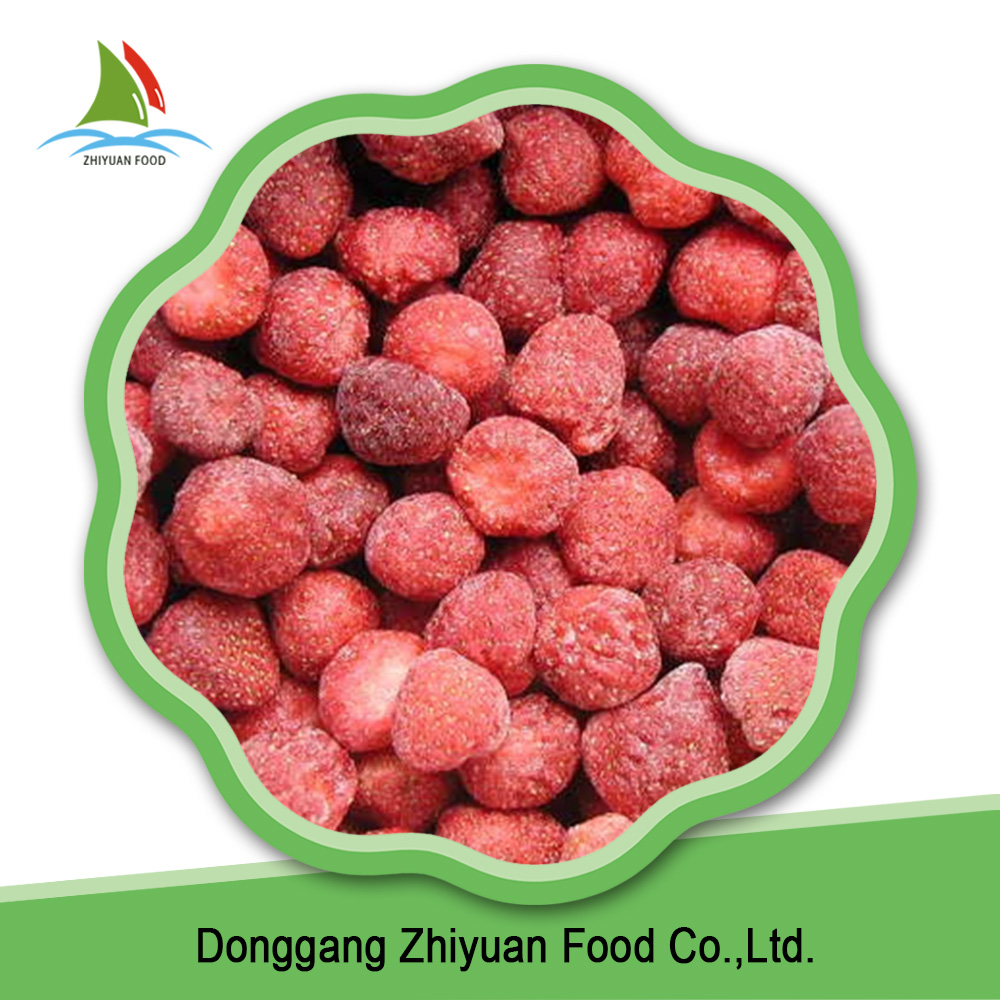 Iqf Frozen Strawberry Dice 10mm Yogurt