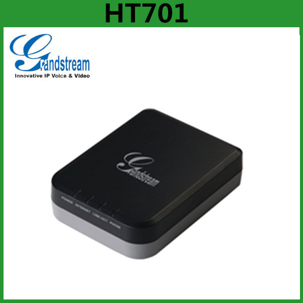 China Supplier Grandstream voip phone adapter HT701 ATA device