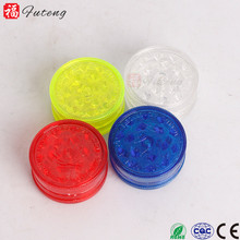 Futeng 109 cheap price tobacco crusher hand 40mm custom plastic herb grinder for sell wholesale tobacco herb grinder