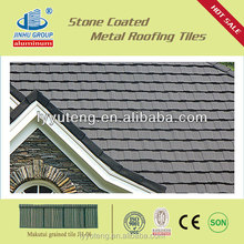 Metal roof covering different size/Zinc-aluminum coating and stone chip coating/0.4MM
