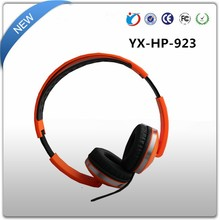 Wired stereo stylish headphones durable computer headset with built-in mic for PC or gaming