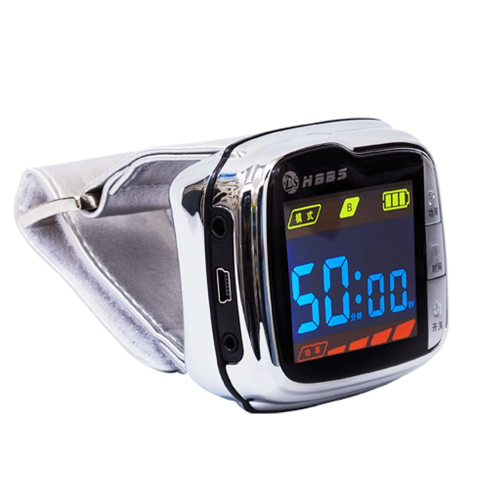 Hot selling blood pressure smart watch laser physical therapy equipment
