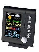 Digital Colorful Screen Weather Station Clock
