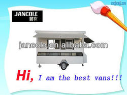 2013 new vans JC-4450 used food carts for sale/mobile food carts for sale/food vending