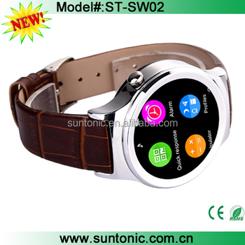 Touchscreen Bluetooth Smart Watch Support SIM / SD Card with Heart Rate / Emote Control for Samsung, LG, HTC, Snoy, Moto, iPhone
