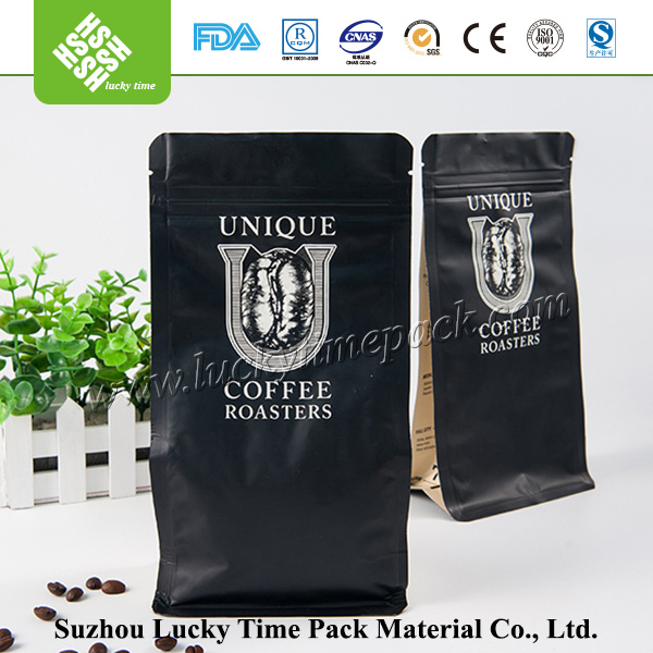 Color printing plastic zipper bag for food packing