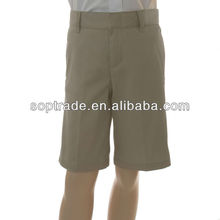 Short boy's pant unique kids school uniforms