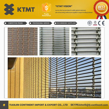 Cheap China supply architectural screen mesh/ stainless steel architectural decoration mesh/decorative curtain