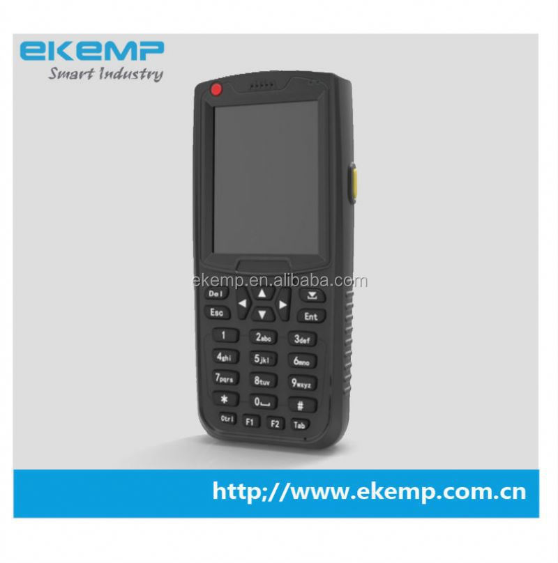 shenzhen halfhand pda cell phone with fingerprint ,gprs,wifi ,1d barcode scanner ,rfid reader