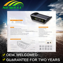 4 Internal Sensors Bluetooth 4.0 APP Display TPMS Tire Pressure Alarm Monitor System OBD Interface Support Android Iphone