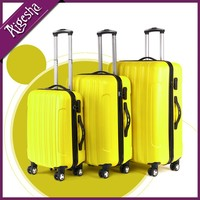 Very light ABS Lady carryon luggage set