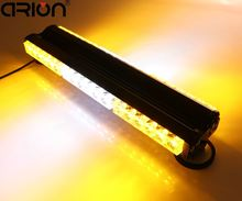 Hot 108W Double Side 6*6 36 LED Long Car Truck Emergency Strobe Flash Light Bar Scanner Lamp Beacon Grille Lightbar Amber/White