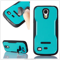 alibaba express iface hybrid pc tpu rugged stand phone case cover for samsung galaxy s4 mini