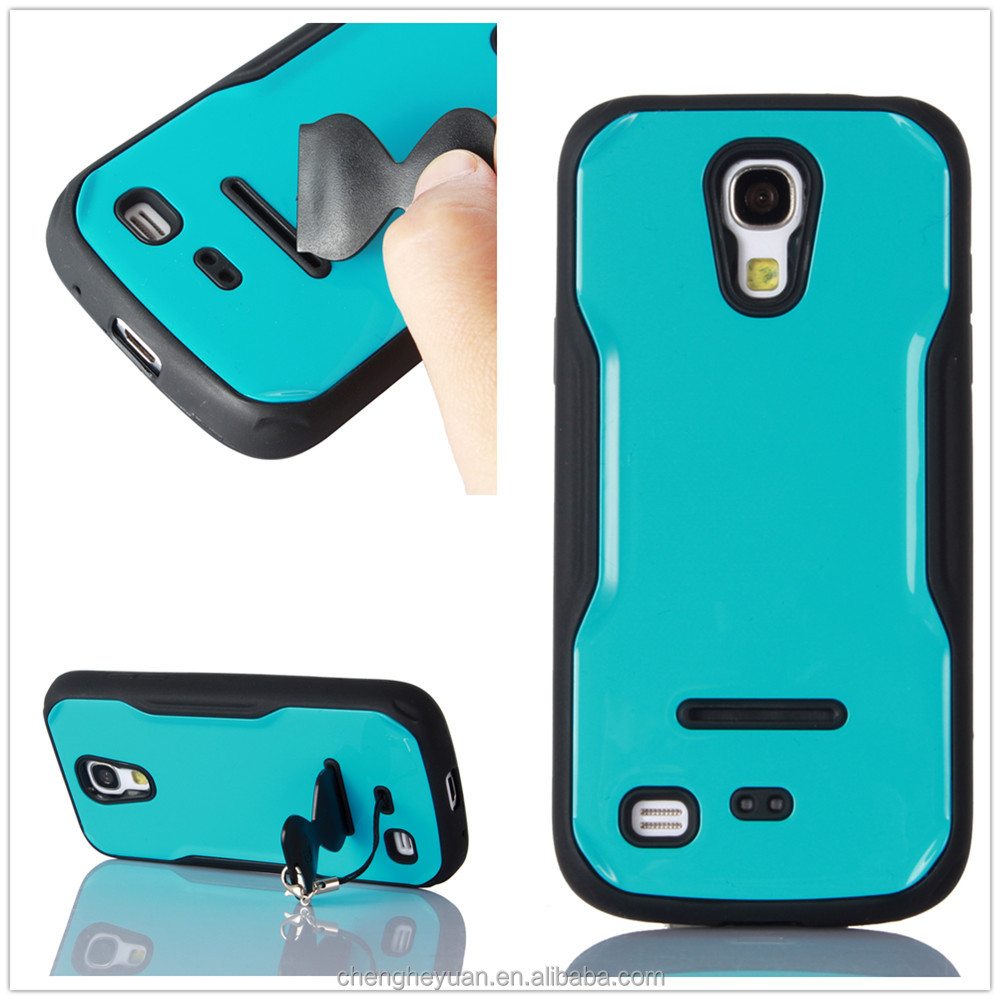 alibaba express iface pc tpu rugged stand phone case cover for samsung galaxy s4 mini