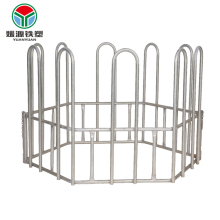 Cheap price hot dip steel or oval tube livestock pipe horse fence galvanized portable goat panels