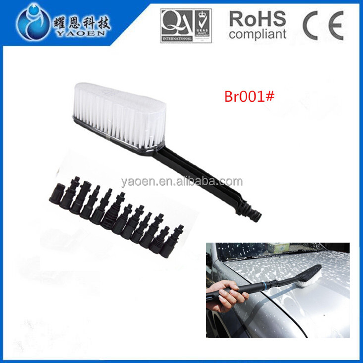 Household Cleaning Tools Car Washing Needed Soft Bristle Plastic Brush Br001#