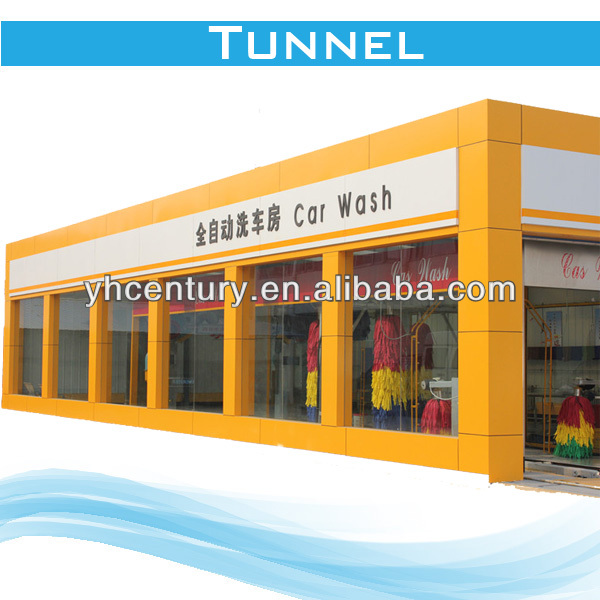 Automated Car Wash Machinery,auto tunnel car washing system