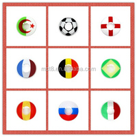 National Flag Designs Crazy Contact Lens for the World Cup