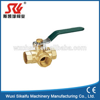 superior quality brass female ball valve with low price