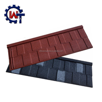 Waterproof colorful stone coated metal roof price in philippines