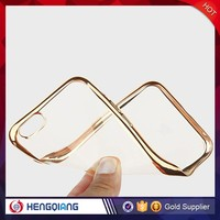 Wholesale high quality thin clean mobile phone case for iphone 5c protective pu tpu clear case