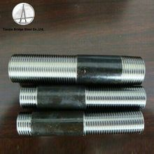 Factory Npt To Nps Carbon Steel One Threaded End Long Pipe Nipple